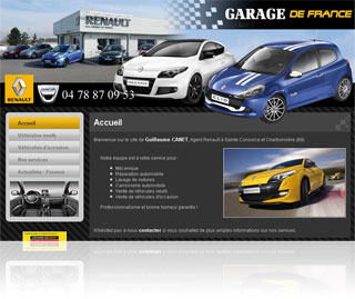 Edroweb - Garage de France